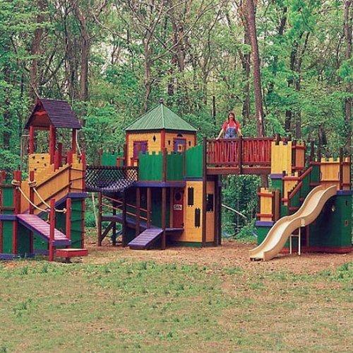 Casa parque de lujo para jardín
