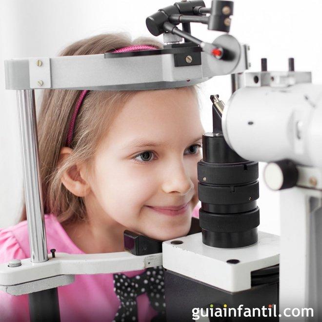 El cuidado de la vista de los niños