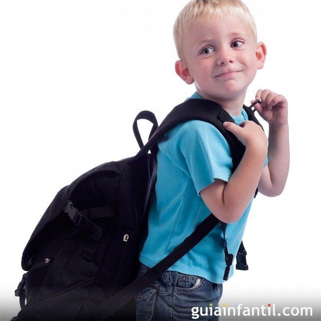 Cuidado con la espalda del niño