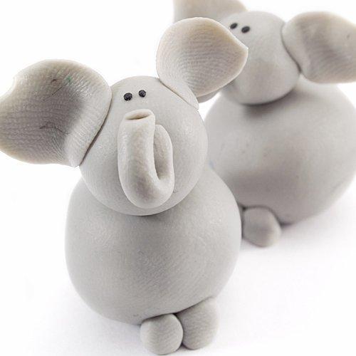 Cómo hacer elefantes de plastilina - Ideas de plastilina para ...