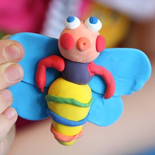 Cómo hacer una mariposa de plastilina