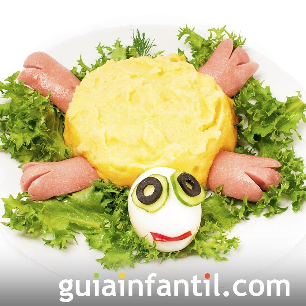 Tortuga con cabeza de huevo para ni os cocina divertida - Cocina divertida para ninos ...