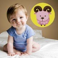 Bebés del signo de Áries. Astrología infantil