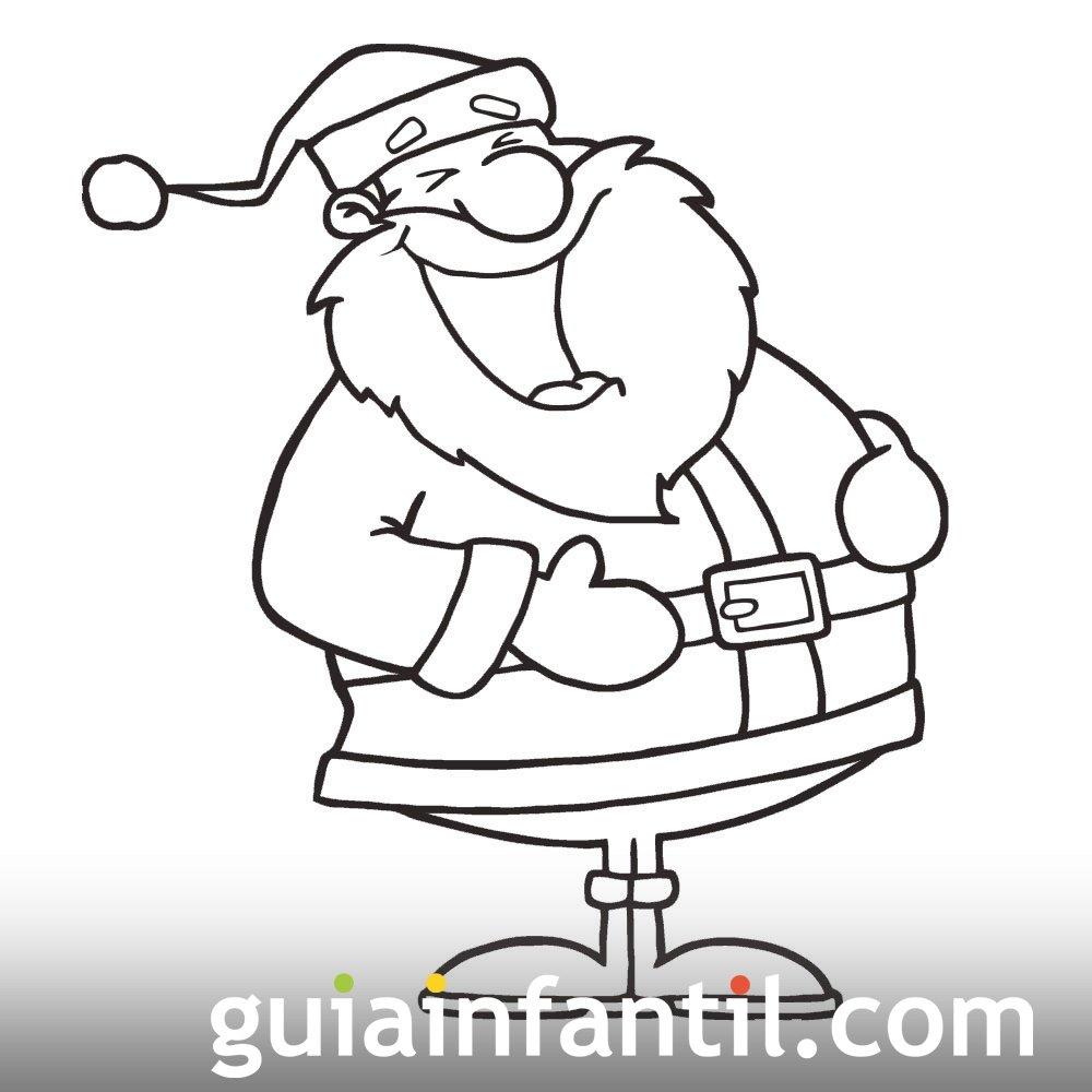 De B Squeda Para Dibujos De Papa Noel En La Chimenea Para Colorear