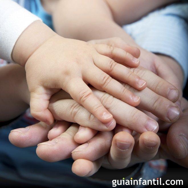 El niño aprende a buscar la paz en sus relaciones