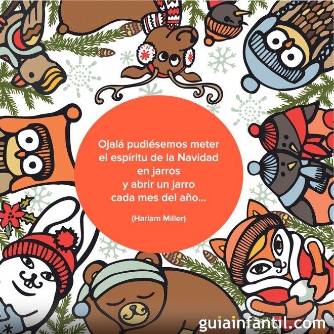 Los mejores deseos para esta Navidad con esta postal