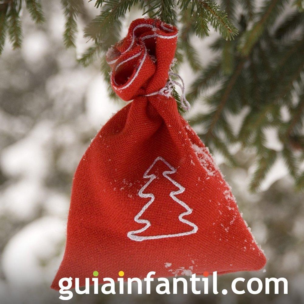 Imprimir bolsitas de tela para colgar al rbol navide o for Zapateros tela para colgar