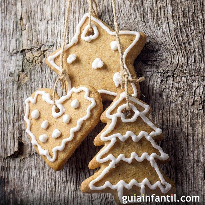 Galletas de canela para decorar la Navidad
