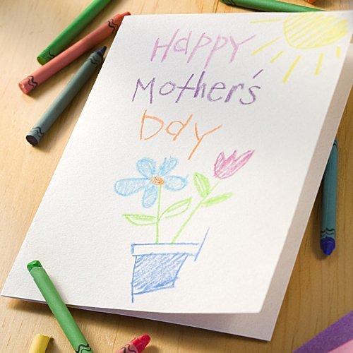 Una tarjeta de felicitacin para la madre regalos auto - Como hacer tarjetas de cumpleanos ...