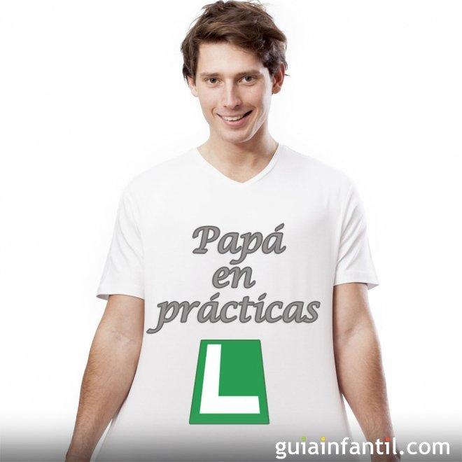 Una camiseta con mensaje para el nuevo papá
