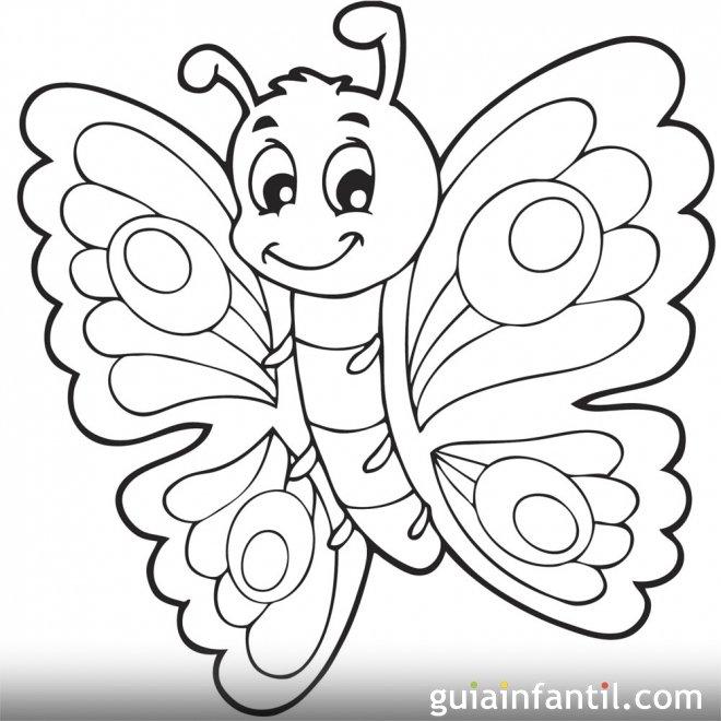 Imprimir dibujo de una mariposa 10 dibujos de mariposas - Plantillas de mariposas para pintar ...