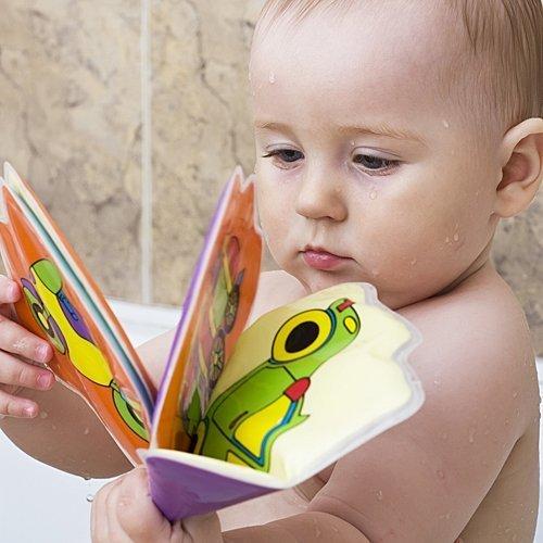 Juegos De Baño A Bebes:Libros para el baño del bebé – Juegos para el baño del bebé