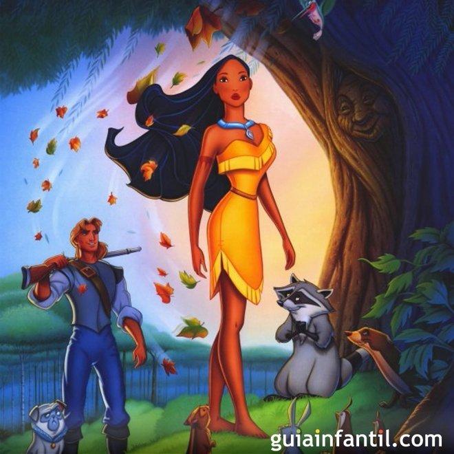 Pocahontas. Una abuela sabia y consejera