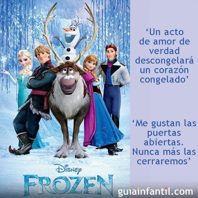 Frases de la película Frozen, el reino del Hielo
