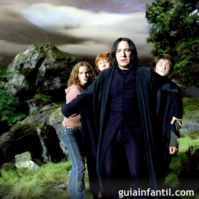 Harry Potter y el profesor Snape