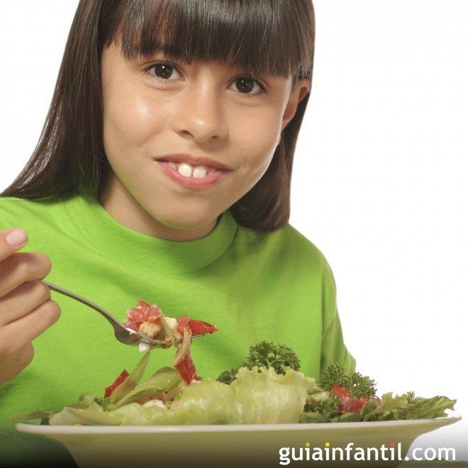 Comer verduras todos los días