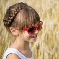 Trenza en forma de diadema. Peinados para niñas