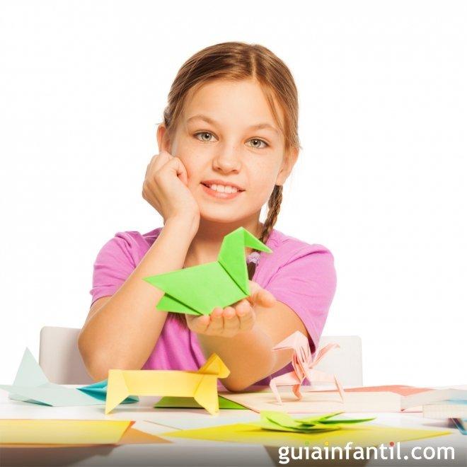 Juegos para desarrollar habilidades: Origami