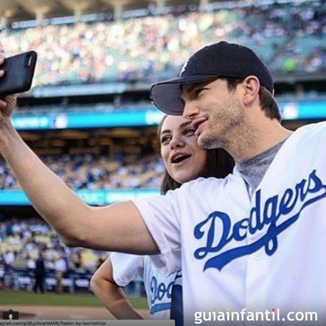 Ashton Kutcher y Mila Kunis tienen una niña de nombre Wyatt Isabelle