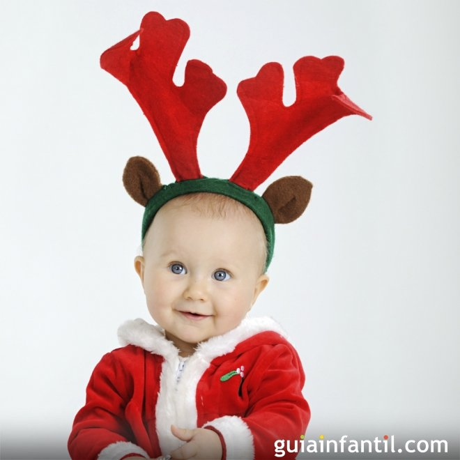 Diadema de reno para ni os disfraces navide os para beb s - Disfraces navidenos para bebes ...