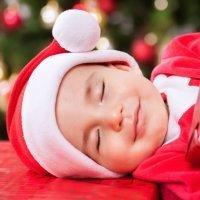 Dormir en un gorro de Papá Noel