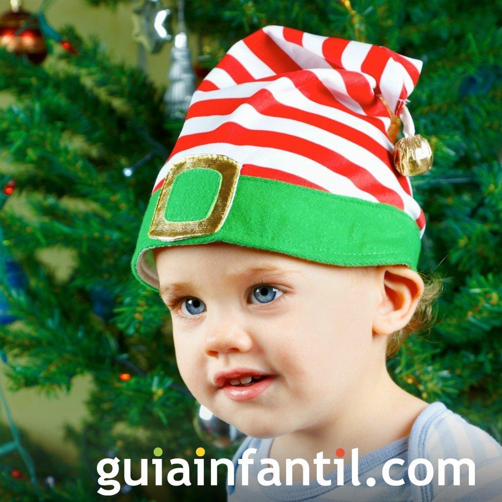 Imprimir un disfraz de duende a rayas disfraces - Disfraces navidenos para bebes ...