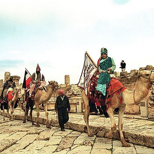 Los Reyes Magos pasan por Jordania