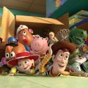 Woody y  Buzz en Toy Story 3