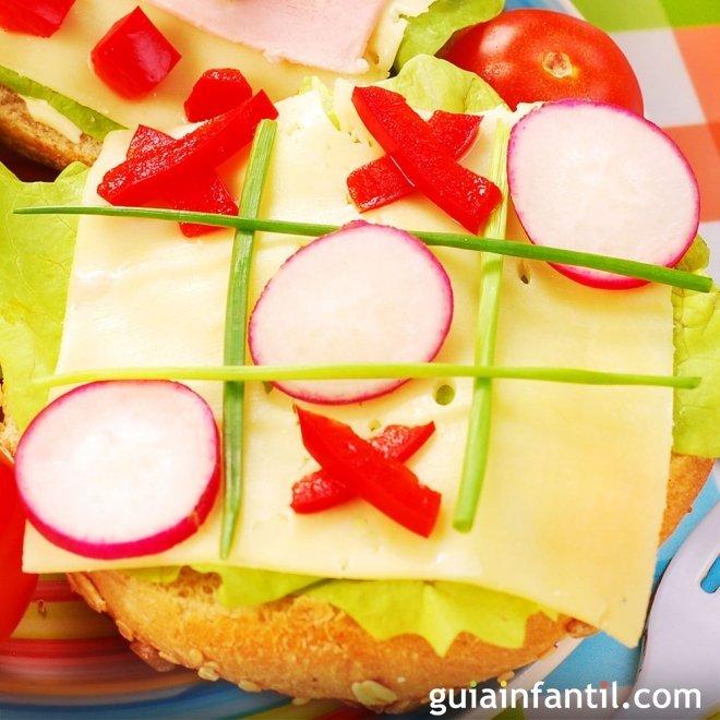 Sándwich tres en raya