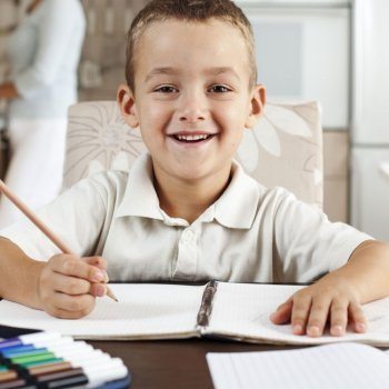 La disciplina y el esfuerzo de los niños en los estudios