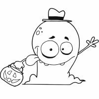 Dibujos de Halloween para colorear o pintar