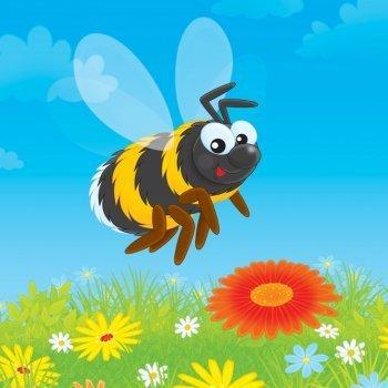 Los zánganos y las abejas