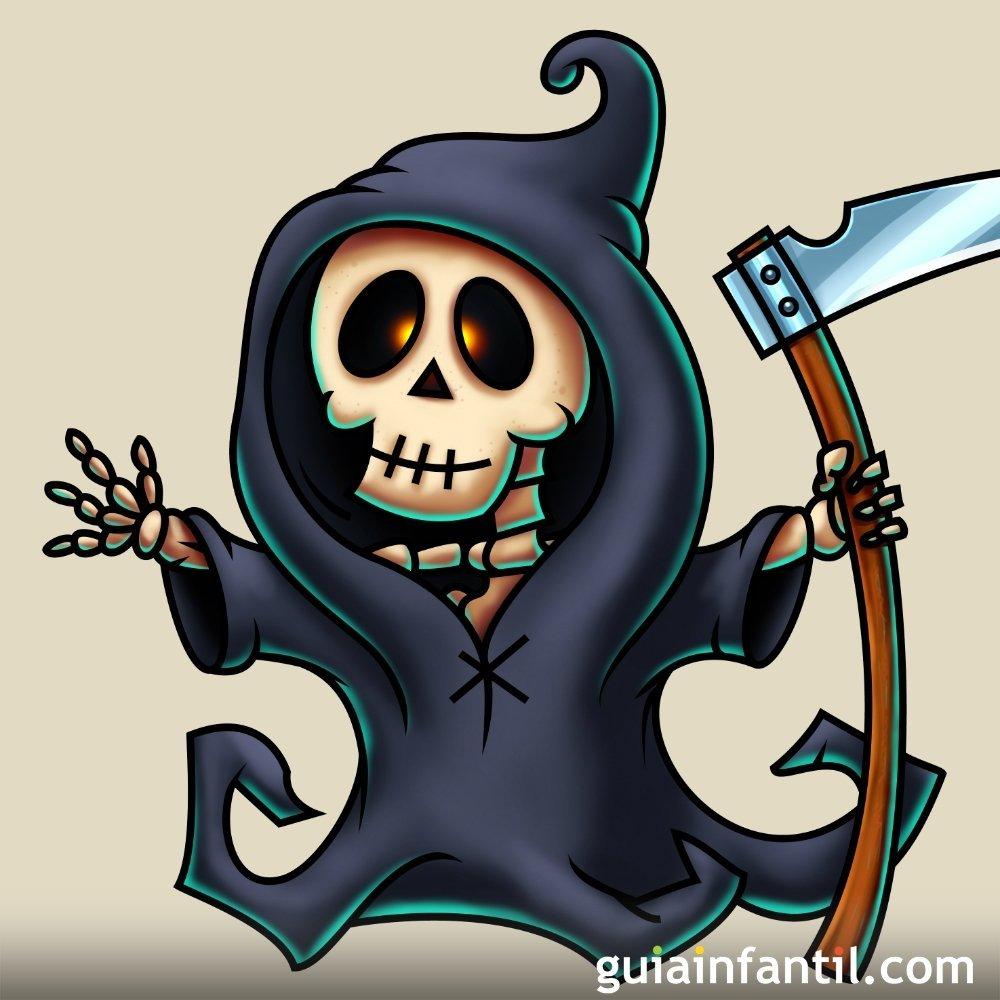 Resultado de imagen para la muerte caricatura