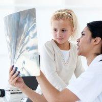 La salud de los huesos de los niños