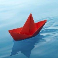 Cómo hacer un barco de papel de origami