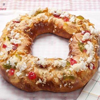 Cocinando con niños. Roscón de Reyes