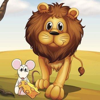 Fábula del león y el ratón