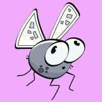 Fábulas para niños. Las moscas