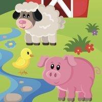 Fábulas para niños. El cerdo y los carneros