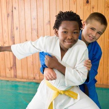 Judo en la infancia