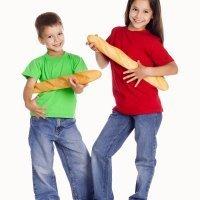 El pan tradicional en la alimentación de los niños