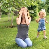 Juegos al aire libre en familia