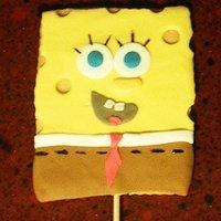 Galletas de Bob Esponja para niños