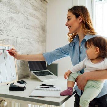 Conciliar hijos y trabajo