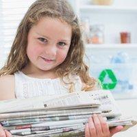 Enseñar a los niños a reciclar los distintos materiales