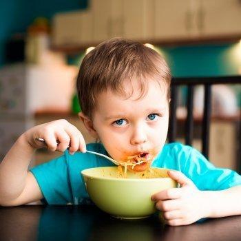 La cena de los niños