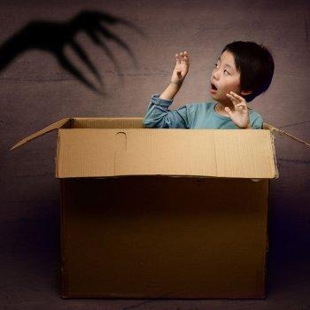 El miedo a la oscuridad de los niños