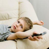 Niños adictos a la televisión