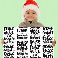 Feliz Navidad en distintos idiomas
