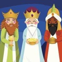 Sus majestades los Reyes Magos del Oriente